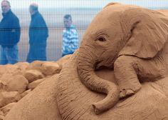 Sand Sculpture Festival Opens To The Public In Weston Super Mare  http://www.zimbio.com