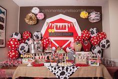 Festa de aniversário Farm Tema da menina da criança 2 32