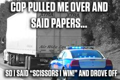 Semi truck humor pictures 35 Ideas for 2019 Funny Truck Quotes, Truck Memes, Funny Car Memes, Truck Humor, Humor Quotes, Stupid Memes, Big Rig Trucks, Cool Trucks, Semi Trucks
