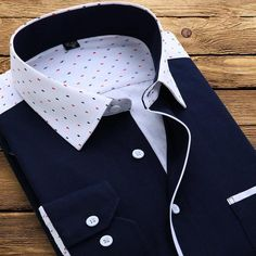Luxury White Printed Men Shirt Long Sleeve Fashion Collar Business Casual Shirt High Quality Floral Shirts Men - Men's style Printed Sweatshirts, Mens Sweatshirts, Men Shirts, Native Wears, Best Leather Jackets, African Clothing For Men, Shirt Embroidery, Spring Shirts, Slim Fit
