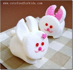 Get busy Peeps and make your own marshmallow bunnies;)  http://craftystaci.com/2011/04/