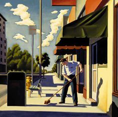Kenton Nelson, Starting the Day