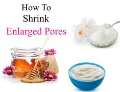 If your pores are looking large, give 'em a shrink by mixing 1 tsp plain yogurt, 1 tsp honey, and 1/2 tsp pearl powder. Apply all over your face, leave on for 15 minuets and wash off. Do this 2 times a week and you'll see amazing results fast. Plain Yogurt, Aging Process, Beauty Secrets, Superfood, Anti Aging, Herbalism, Powder, Honey, How To Apply