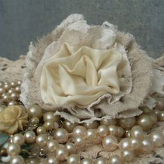 Handmade fabric flower DIY accessory, vintage textile brooch made from salvaged vintage laces, linen, and satin, in shades of white, ivory, and natural linen.     http://www220.litado.edu.vn  http://www220.litado.edu.vn/2012/11/12/mon-an-giam-can-mon-an-gi-giam-can-cach-an-kieng-giam-can-nhanh-nhat  http://www220.litado.edu.vn/2012/11/09/meo-giam-can-hieu-qua