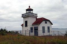 Burrows Island Lighthouse, Washington at Lighthousefriends.com