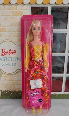 Vintage Barbie Doll 1972 Dressed Doll European Sealed in Original Package #8549