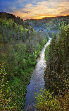 Wutach Gorge, Black Forest - Baden-Württemberg, Germany:
