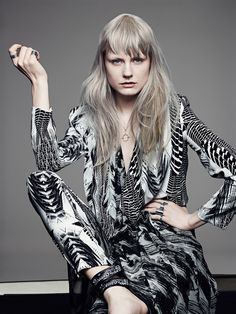 """""""Style Clash"""" is one of the key looks within the Traditional Rebels 15 collection. #ColorZoom #HairStylistswww.goldwell.com"""
