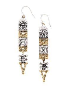 Aztec Earrings, Earrings - Silpada Designs W3283  $69  Order @ mysilpada.com/laurie.woods