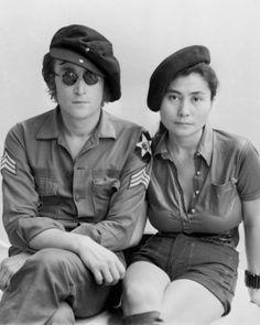John Lennon and Yoko Ono: http://en.wikipedia.org/wiki/John_Lennon http://en.wikipedia.org/wiki/Yoko_Ono