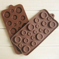 Amazon.com: Button Muffin Sweet Candy Jelly Ice Silicone Mould Mold Baking Pan Tray Make: Kitchen & Dining
