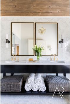 There is some serious inspiration on Instagram lately. Need some bath ideas... we found them. Drama, marble, hexagon tile, light and bright, clean cut- it's all here. via @alyssarosenheck via Workstead via @jeanstofferdesign via Rachel Halvorson via @stofferphotographyinteriors via @LaurenLiess via @laineandlayne via