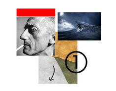 Jacques Cousteau by Angie Palmai