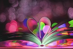 Book Of Love wallpaper by Awwthentic Book Flowers, Bokeh Photography, Volunteer Appreciation, I Love Heart, Love Wallpaper, Love Symbols, Colorful Drawings, Love Is Sweet, Cover Photos