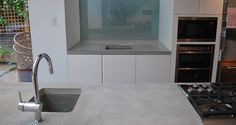 Designfinger - Eco Concrete Worktops for Kitchens and Bathrooms