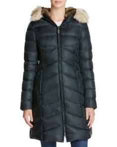 Dawn Levy Fur Trim Daphne Down Coat | Bloomingdale's