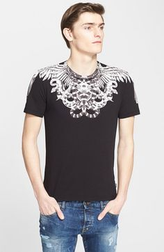Just Cavalli 'Snake and Feather' Graphic T-Shirt - that should be mine!