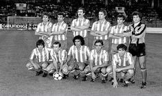 EQUIPOS DE FÚTBOL: ATLÉTICO DE MADRID contra Colonia 19/08/1983