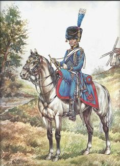 -Trompette Artillerie a cheval de la Garde, 1807