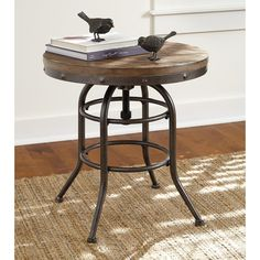 Signature Design by Ashley Vennilux Chair Side End Table