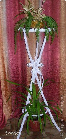 Поделка изделие Плетение Бумажно -соломенные фантазии Бумага Соломка фото 6