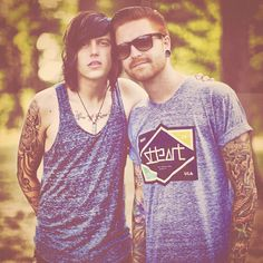 Sleeping With Sirens' Kellin Quinn and Memphis  May Fire's Matty Mullins