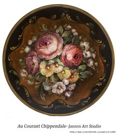 From our Paint It Simply lessons. China Painting, Tole Painting, Painting On Wood, Decoupage Vintage, Decoupage Paper, Decoupage Ideas, One Stroke Painting, Painting Tips, Decorative Painting Projects