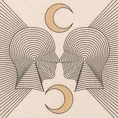 'Matching Minds' Print - 11 x 11