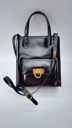 42a0073fdd5e 100% Authentic designer bags and jewellery! by Sophiashop123. Salvatore  FerragamoLeather Shoulder BagBlack ...