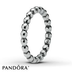 PANDORA Ring Sterling Silver Cubic Zirconia Forever More