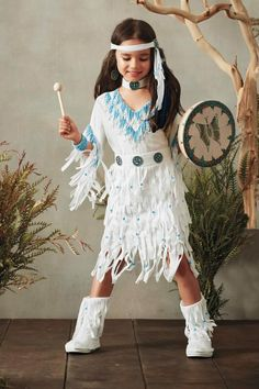 9d3a05b704c Native American Princess Costume for Girls