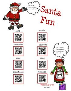 CHRISTMAS BUNDLE USING QR CODES - Pre k - 2nd $ By QR Queens So many QR CODES for the MONEY!