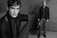 Massimo Dutti November 2014 Men's Lookbook | FashionBeans.com