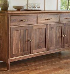 Trinchador Sideboard Decor, Walnut Sideboard, Credenza, Walnut Furniture, Furniture Design, Kitchen Furniture, Furniture Decor, Great Interior Design Challenge, Buffet Cabinet