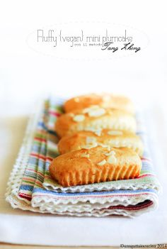 Fluffy {vegan} mini plumcake con il metodo Tang Zhong