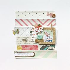 #papercraft #scrapbook #layout. Using Up Your Scraps!! - MAGGIE HOLMES Photography and Scrapbooking Blog