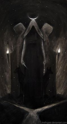Hekate-Triple Goddess of the Crossroads queen of all witches
