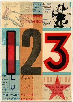 123 by artwork by Julia Trigg