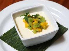 Mijn verstand: Panna cotta op basis van soja met vers fruit