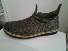 How to Make Homemade Leather Huarache Shoes Homesteading  - The Homestead Survival .Com
