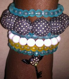 Posh Arm Candy by TuTuDyeFor on Etsy, $26.50