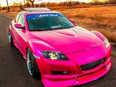 Nice pink rx8 too ^_^
