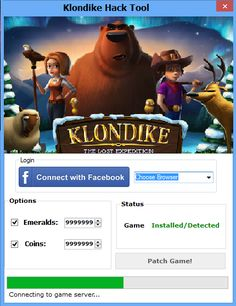 Klondike Cheat Pirater illimités Emeralds Infinite Energy