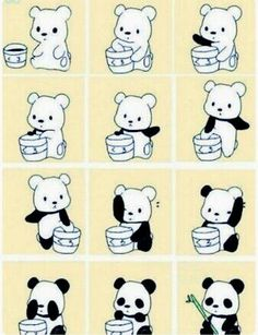 How to make a panda