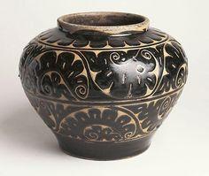 Art Gallery of New South Wales - Jar (Cizou Wear) - China (Yuan Dynasty)