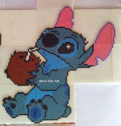 Stitch hama beads by deco.kdo.nat