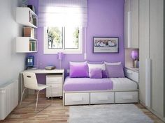 Ideas To Decorate A Small Bedroom For A Girl