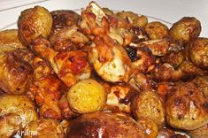 Aripioare de pui in sos dulce picant Cooking Time, Chicken Wings, Sprouts, Chicken Recipes, Vegetables, Pork, Salads, Vegetable Recipes, Veggies