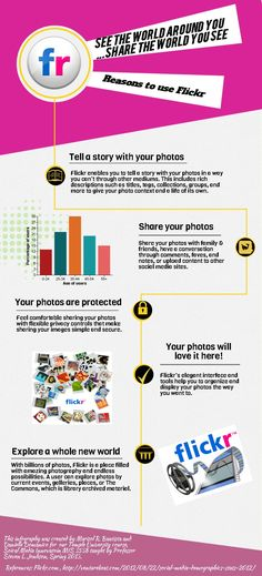 Flickr Infographic