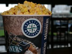 #Mariners Bottomless Popcorn. Available at various locations throughout the ballpark.